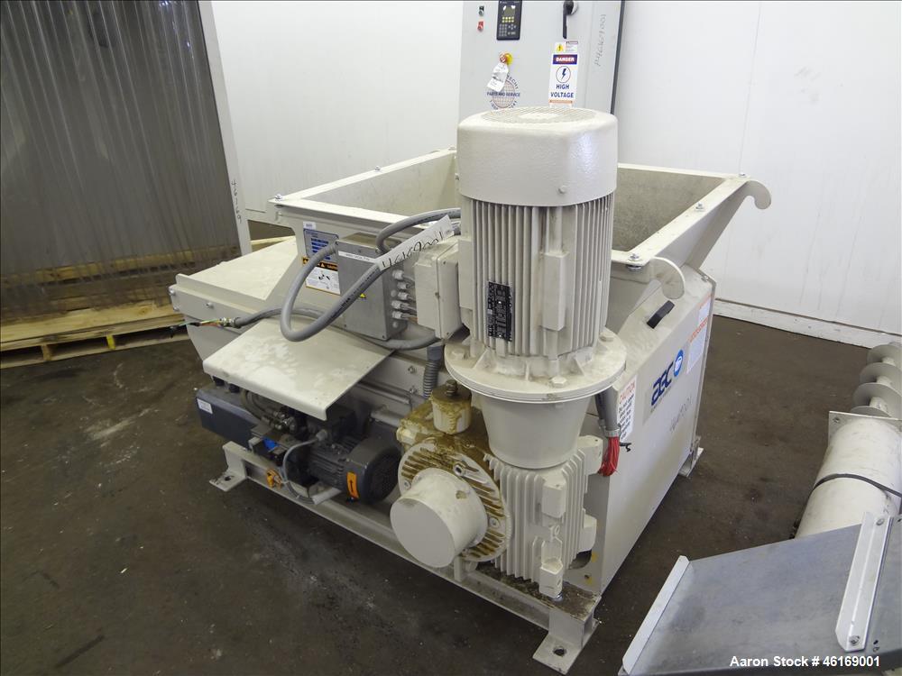 Used- Vecoplan Rotary Grinder Type RG 32 (ANIV), Carbon Steel.