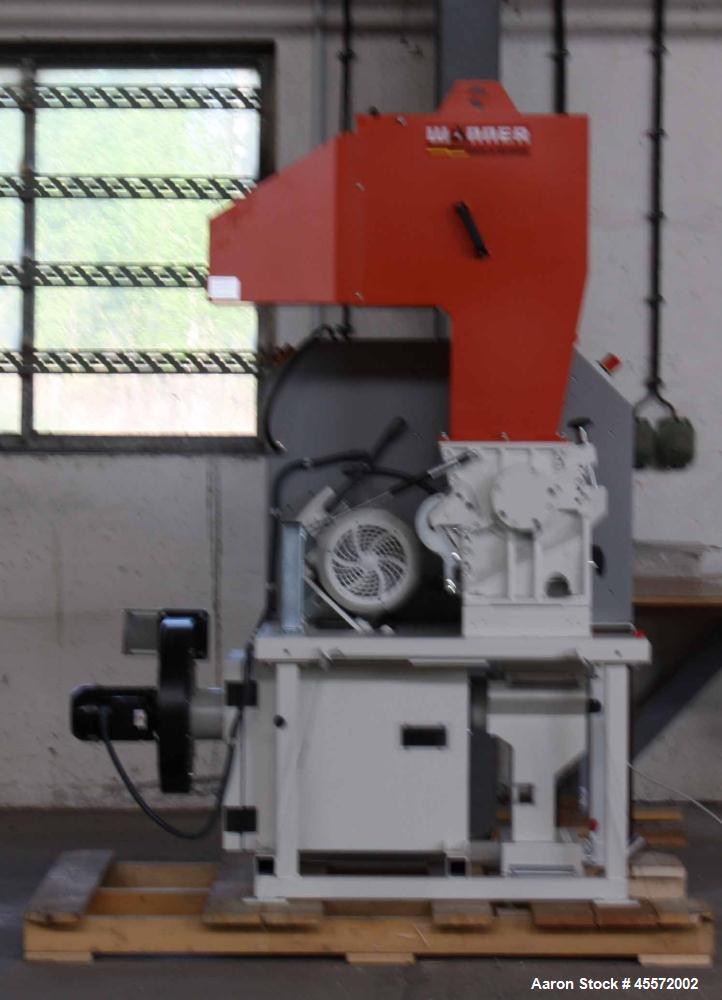 Used- Wanner D25.38 Granulator