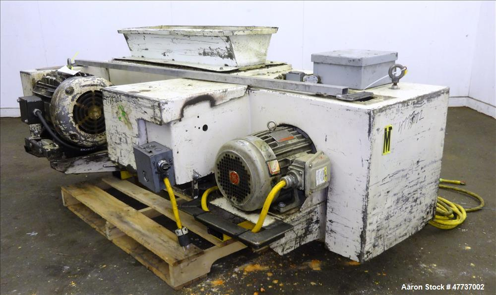 Used- Wor-tex Granulator, Model UP-755, Carbon Steel.