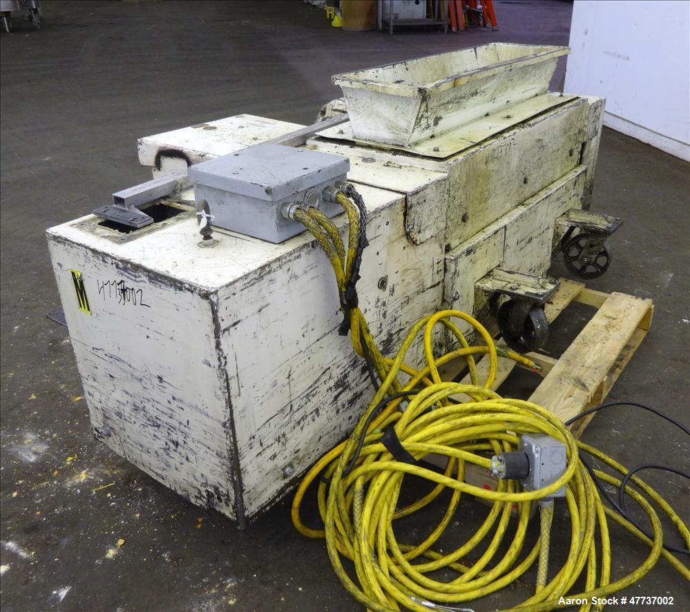 Used- Wor-tex Granulator, Model UP-755, Carbon Steel.