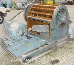 "Used- Young Industries Granulator, Size 2436, Carbon Steel. 24"" x 36"" feed throat. 10 bolt-on blade open rotor. Driven by a ..."