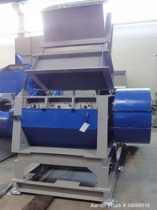 "Used-Zerma GS 500/801 N-S5 (cutting mill) All-Round Granulator with feed hopper.  Feed opening 31 x 17.7"" (800 x 450 mm).  M..."