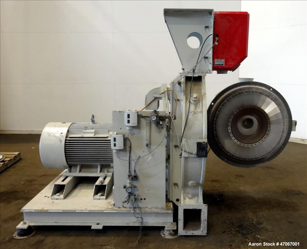 Used- AEC Nelmore Series APM Impact Pulverizer, Model PM800.