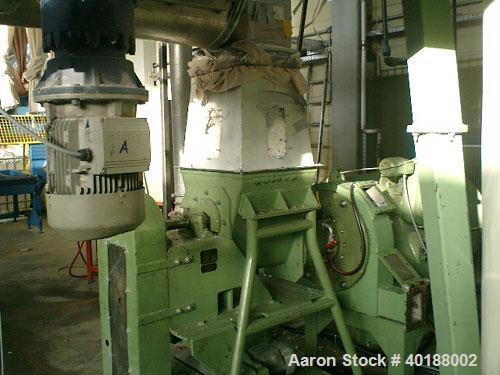 Used- Condux Granulation System, type CV30, consisting of: (1) Condux plastic compactor, type PLX300-45-No1. Working capacit...