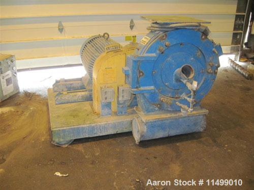 "Used-Herbold Pulverizer, Model PU500.20"" Rotor, wing beater style rotor, belt driven, 55 kW motor, 330-2250 lbs/hr.Manufactu..."