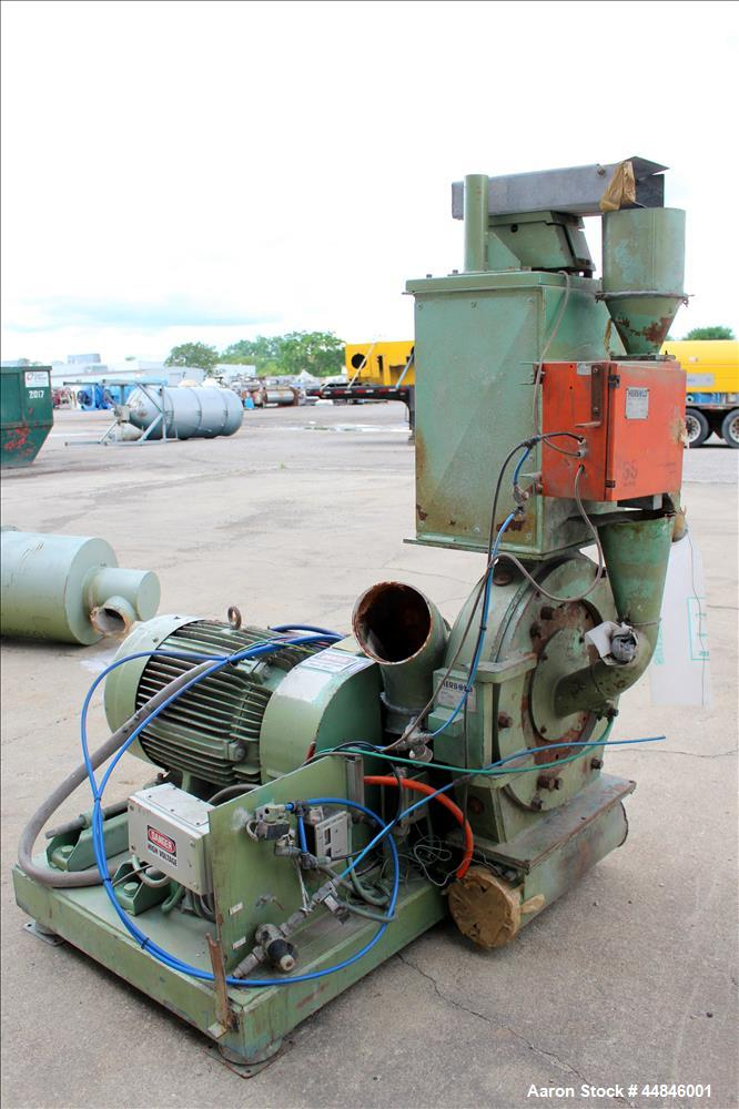 Used-Herbold PVC or Plastics Recycling and Grinding System