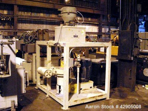 Used- Reduction Engineering Grinding System Consisting Of: Model REC 100 Reduction Engineering mill, 60 hp, 480 volt, Reduct...