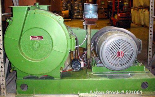 "USED: Pulvocron model PC-38, 150 hp, 12"" x 6"" feed throat."