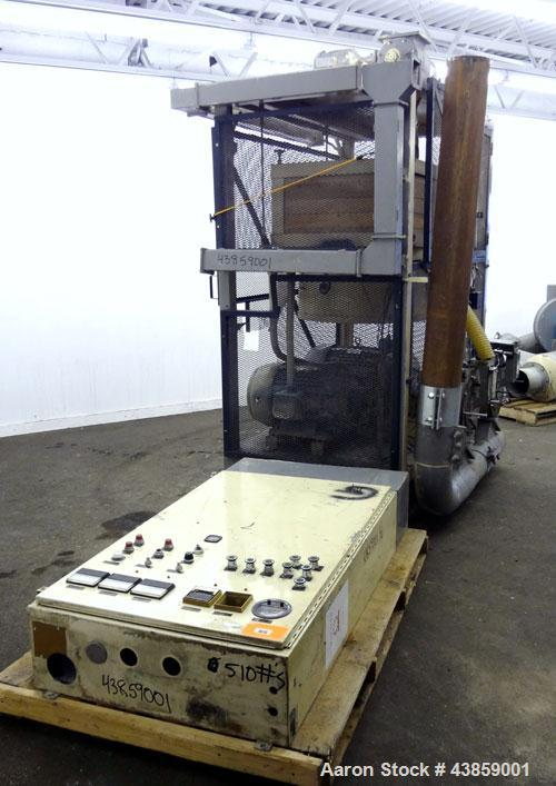 Used- Wedco Size Reduction System, Model SE 12TC-50-50, Carbon Steel. Consists of : (2) Thermofine SE 12 mills, approximate ...