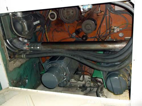 "Used- Duesenbery Slitter, Model 460 QD. Width Unwinder 100"" - Rewinder 60"" large shaft. Chuck Diameter Unwinder 10"" and 6"" –..."