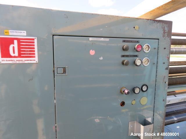 """Used- Dusenbery 72"""" Slitter-Rewinder, Model 815 GR."""