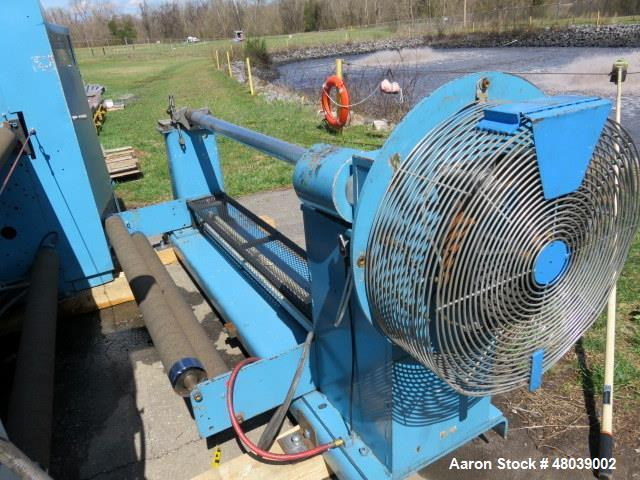 "Used- Dusenbery 60"" Slitter, Model 815 LR."