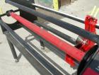 Used: Smartslitter single blade roll slitter, model Genesis G1162. Floor standing unit. Capacity 62