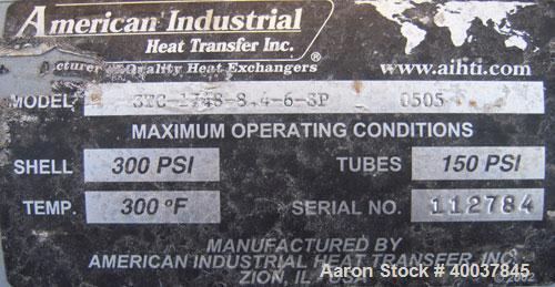 Used- Sterlco Hot Oil Temperature Unit, Model 6017-LX.