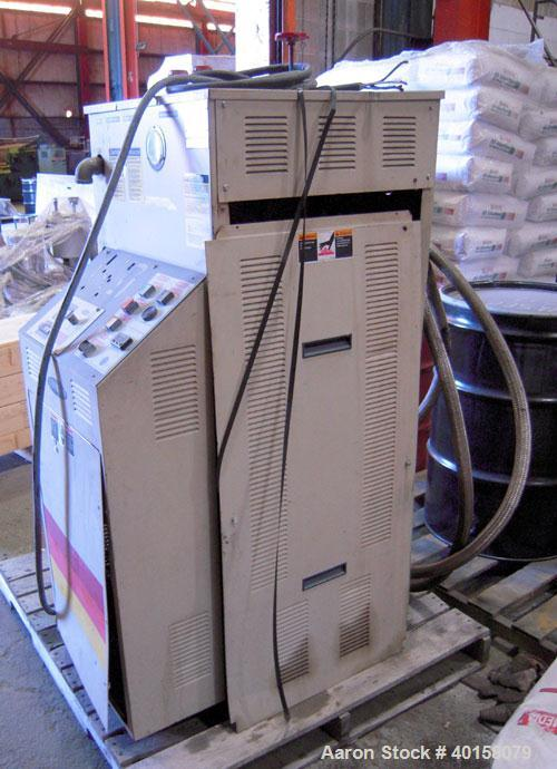 Used- Sterlco single zone hot oil heater, model S9016-JO, 24 kw. 3/60/460 volt, 33 amp. Serial #97E5300.