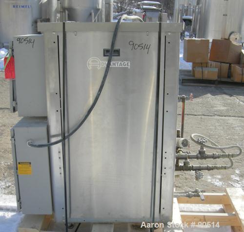 Used: Advantage hot oil temperature controller, model RK4-2460HC-SP. Maximum temperature 400 deg.f.. 3/60/460 volt,approx 24...