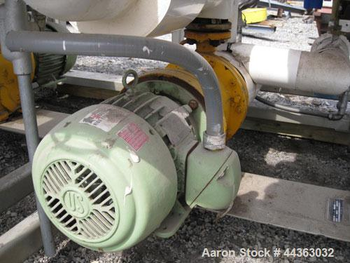 Used- Chromalox Electric Oil Heater, 40 kw capacity, electrically heated bayonet heater, 480 volt, 3 phase, skid mounted wit...