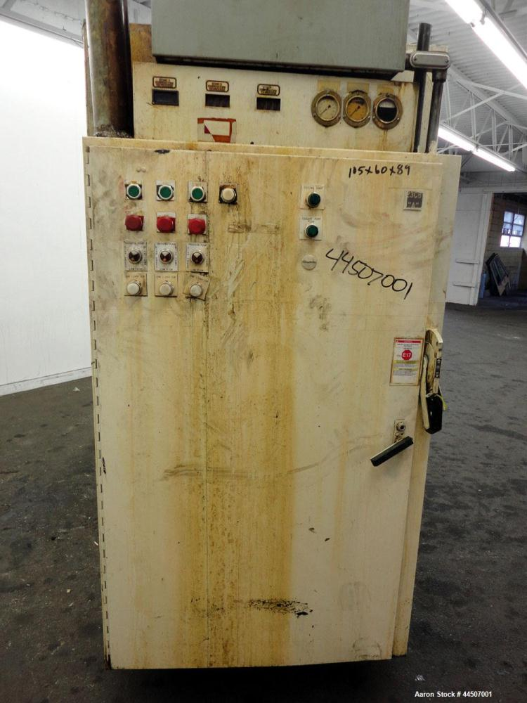 Used- Cincinnati Milacron Hot Oil Heater, Model TT0-120/30/30 60HC