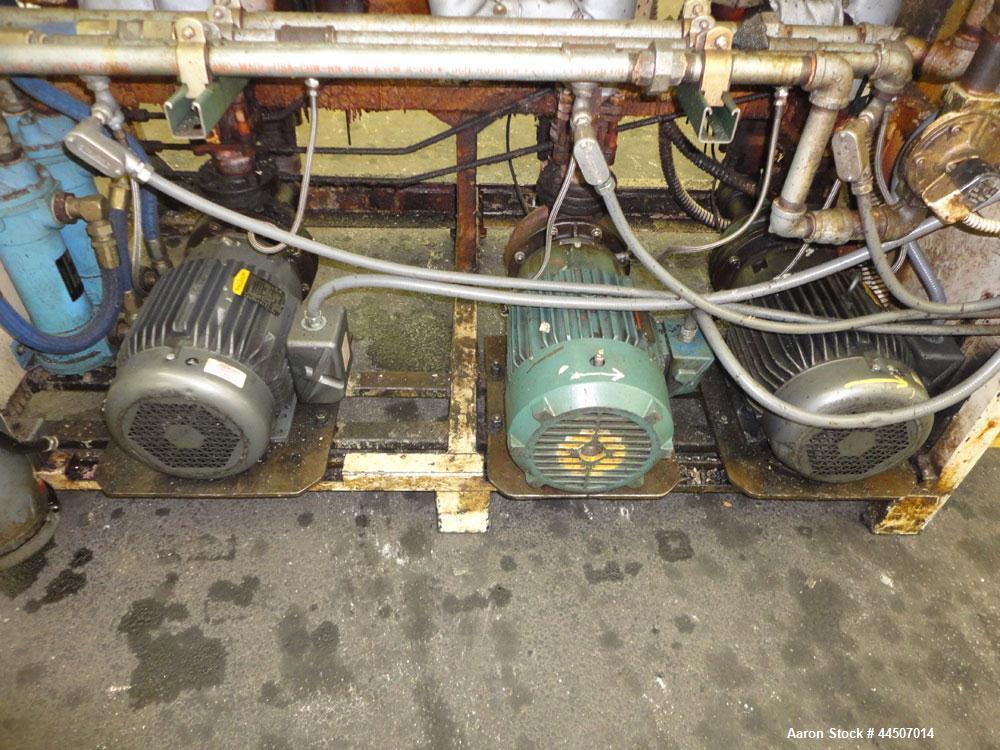 Used- Cincinnati Milacron Hot Oil Heater, Model TT0-72/30/30 60HC