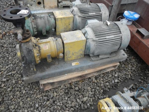 Used- FTS Hot Oil System, 100 kW/hour capacity rated up to 400 deg F max operating temperature, 460 volt 3 phase 60 hz main ...