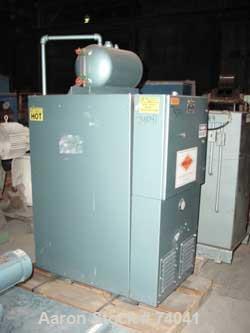 Used- Heat Exchange & Transfer Fluid Heat Transfer System, Model WM550. Rated 550 deg F, design 100 psi, 30,708 btu. Designe...