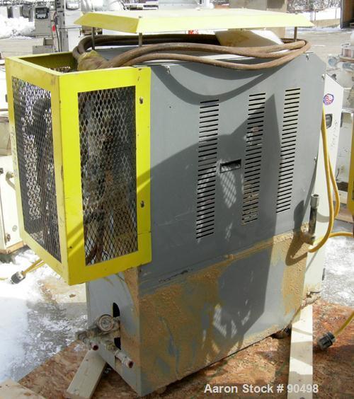 Used: Mokon hot oil temperature controller, model H54112CH. Maximum temperature 500 deg.f.. 3/60/460 volt, 12 kw, 15.1 heate...