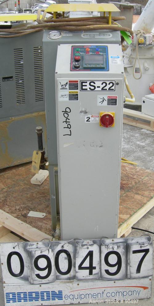 Used: Mokon hot oil temperature controller, model H54A12-S2. Maximum temperature 500 deg.f.. 3/60/460 volt, 12 kw, 15.1 heat...
