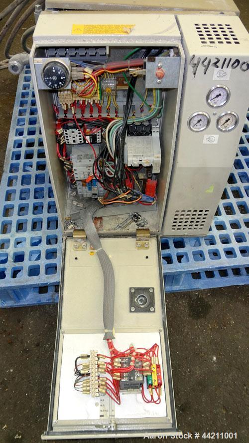 Used- R.Sella Hot Oil Temerature Controller, Model NO. Approximate 6Kw heating capacity, 180 degrees C. maximum temperature....