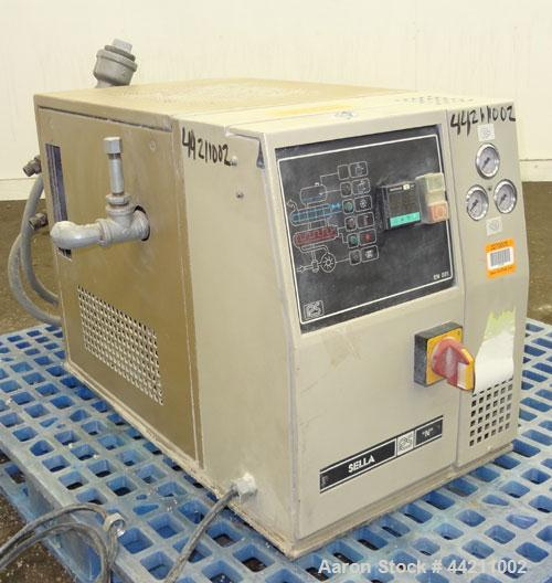 Used- R. Sella Hot Oil Temerature Controller, Model NO. Approximate 6Kw heating capacity, 180 degrees C. maximum temperature...