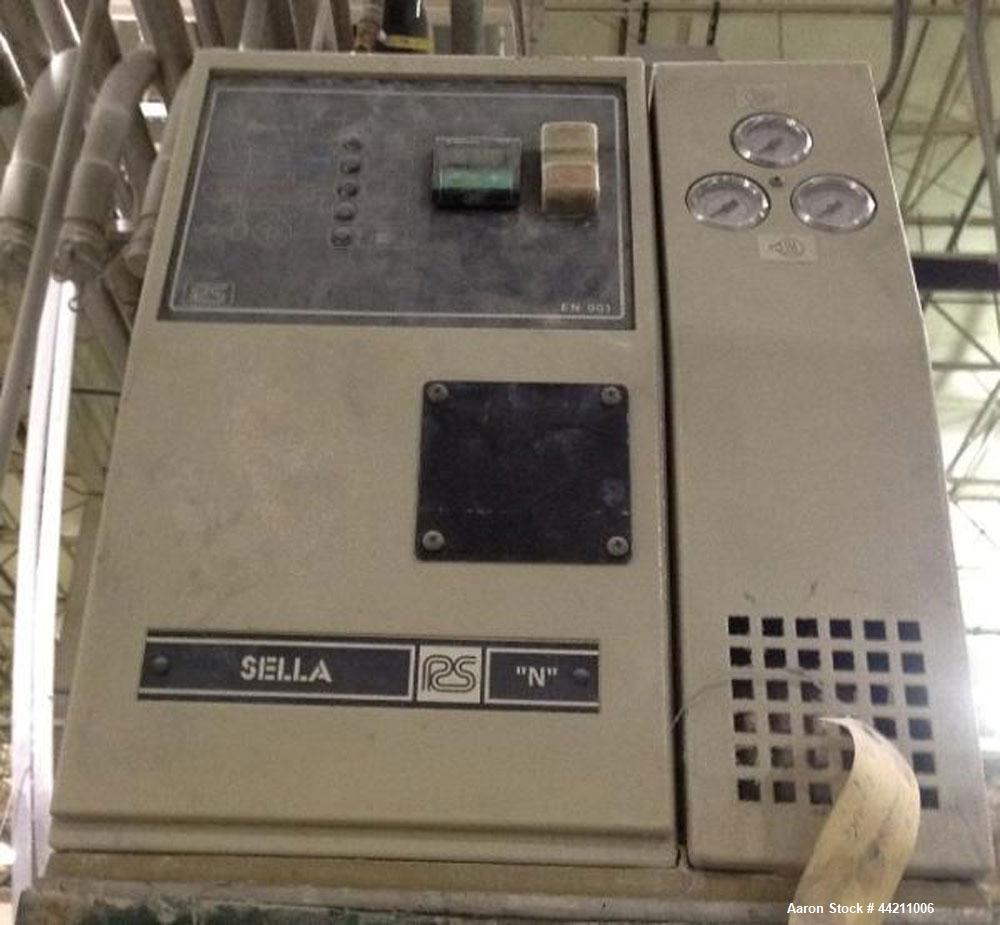 Used- Sella Model NO Oil Heating Unit, 9 kw electric heater, 37 kw cooling capacity, rated to 180 degrees C (356 degrees F),...