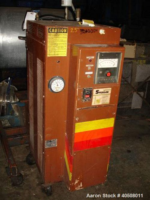 Used- Sterlco Hot Oil Heater, Model F6016-MX. 12 kW, single zone, 460 volt with pump.