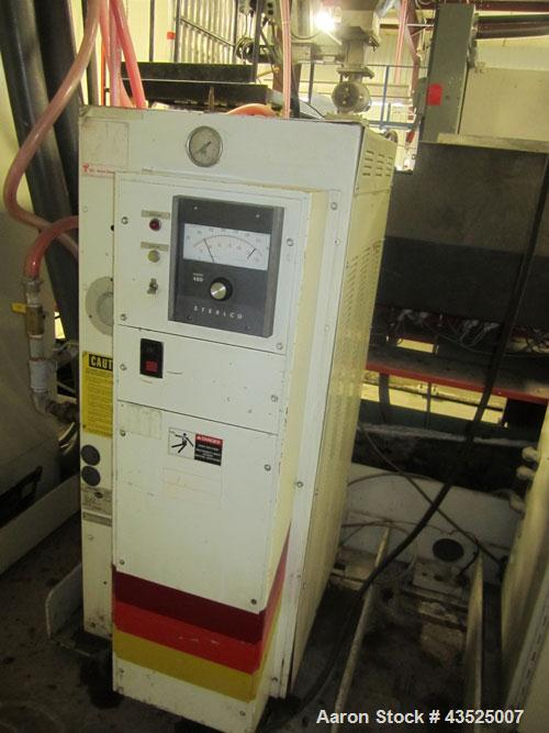 Used- Sterlco Hot Oil Heater, Model F6016-MX. 6 kW Capacity, single zone, 460 volt with controls.