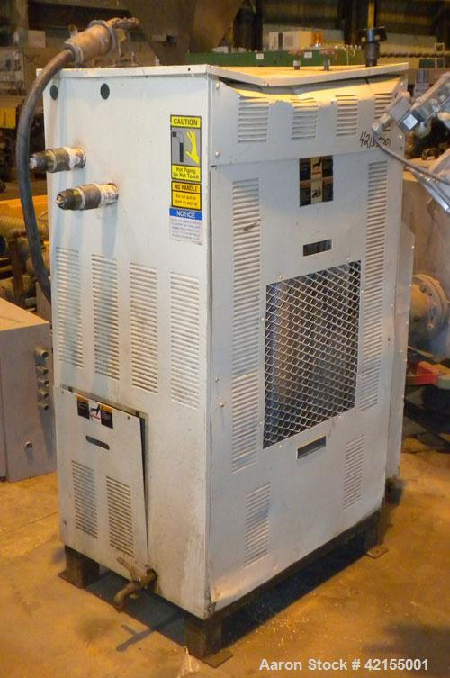 Used- Sterlco Hot Oil Temperature Controller, Model G9016-J1. 36 Total kW, 2 zones, 18 kW per zone. 3/60/460 Volt. Mounted o...