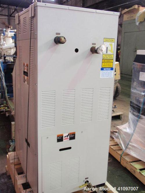 Used- Sterling Sterlco Hot Oil Temperature Controller, Model M2B9016-JO. 3/60/480 volt, 33.5 amp, 24 kw. Mounted on casters....
