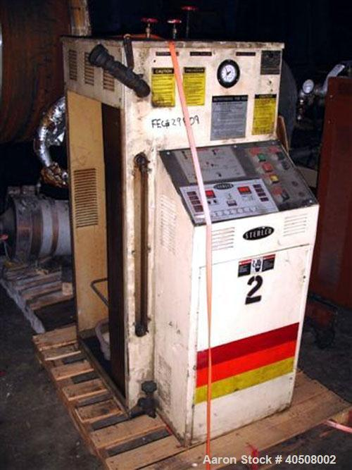 Used- Sterlco Hot Oil Heater, model M9016-1, 12 kW, single zone, 460 volt with 1 hp pump.