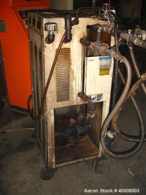 Used- Sterlco Hot Oil Heater, approximately 12 kW, single zone, with pump.