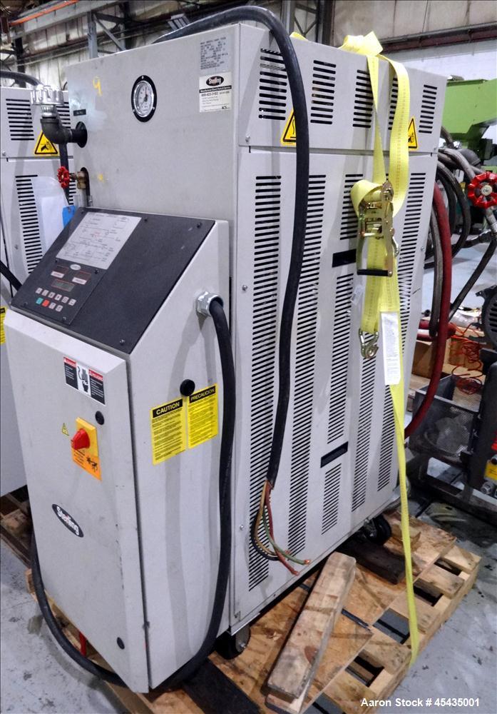 Used-48 KW Sterling Model M2B2016-U1 Hot Oil Liquid Temperature Controller; S/N 37L0183, 5 HP Pump, 480 VOLT, MAX PRESSURE 1...