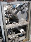 Used- Chromalox Electric Oil Heater, 30 kw capacity, electrically heated bayonet heater, skid mounted with 5 hp Kontro centr...