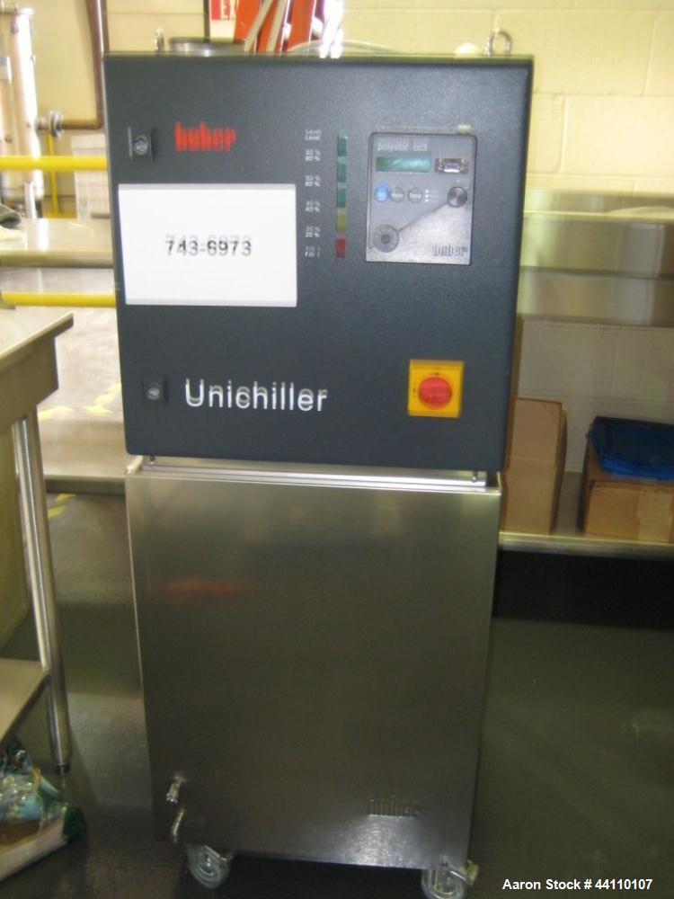Used- Huber Unichiller w/ Polystat cc3 unit, S# 53478/02, 220V  Refrigerant R507