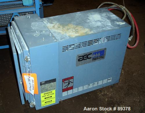 Used- AEC Temperature Controller, Model TDW-INXQ. 9 Kw heater. Temperature range to 330 deg F. Mounted on casters.