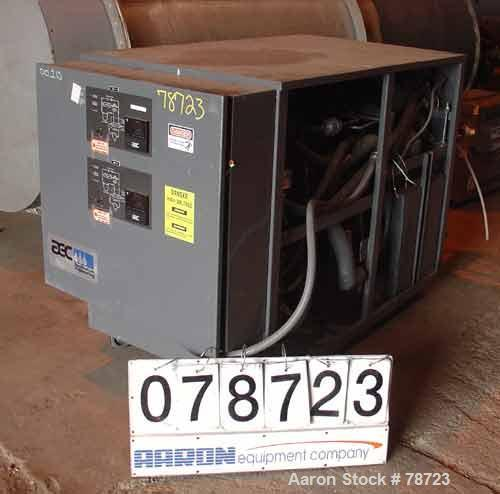 Used- AEC Water Temperature Unit, Model W2NC-3Q. 2 zone, water cooled,cooling capacity of 1.9 tons, min temp 20 Degrees F, R...