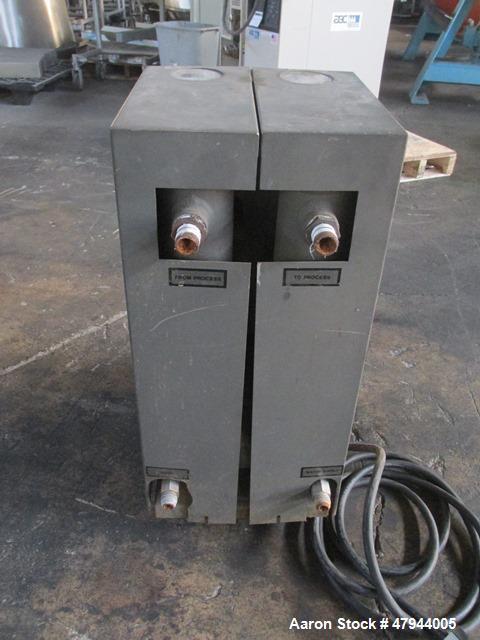 Used- Cincinnati Milacron Water Temperature Control Unit, Model MWC-75. 0.75hp, maximum set temperature 250 degrees F. 3/60/...
