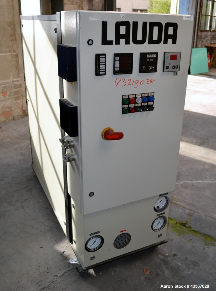 Used- Lauda 29kW Secondary Circle Unit Heater, Type TR400HKK. Temperature range -60 to 200 degrees C. (-76 to 392 F.). 3/50/...
