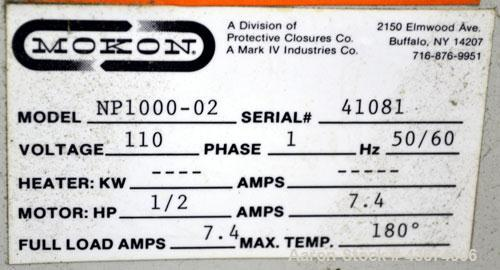 Used- Mocon Leak-Master Negative Pressure System, Model NP1000-02. Designed to stop leaks in molds and processes without sto...