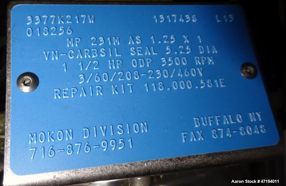 Unused- Mokon Duratherm Circulating Water Temperature Control System