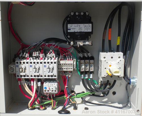 Used- Mokon Duratherm Water Temperature Controller, Model DR4C48-M5. Single zone, 48 total KW. Maximum temperature 250 deg F...