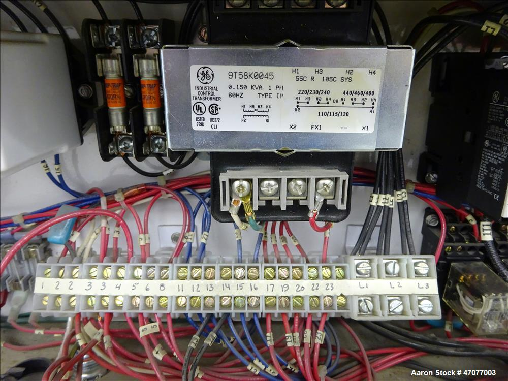 Used- Sterlco Hot Water Temperature Controller, Model MX9712-AX.