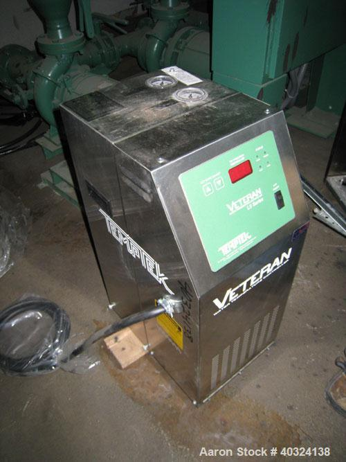 Unused: Temptek Veteran water temperature controller, model VT-275-LS. 10 kW, 3/60/460 volt, 12.3 amp. Mounted on casters. S...