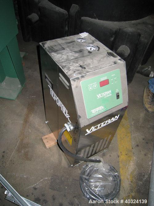 Unused: Temptek Veteran water temperature controller, model VT-275-LS. 10 kW, 3/60/460 volt, 12.3 amp. Mounted on casters. S...