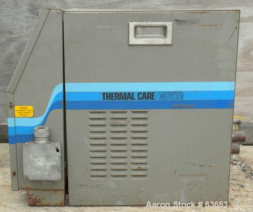 Used- Thermalcare/Mayer Microcomputer Liquid Temperature Control Unit, Model MSMB2D00. 12 kW heater. 2 hp, 3/60/208-230/460 ...